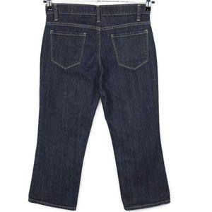 Talbots Straight Cropped Capri Jeans 2P Stretch